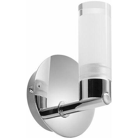 Applique Salle de Bain LED Classe 2 Orphéon ampoule remplaçable - Transparent