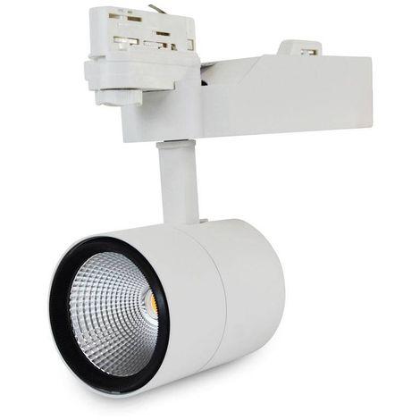 Spot LED 40W triphasé   Blanc Neutre - Blanc