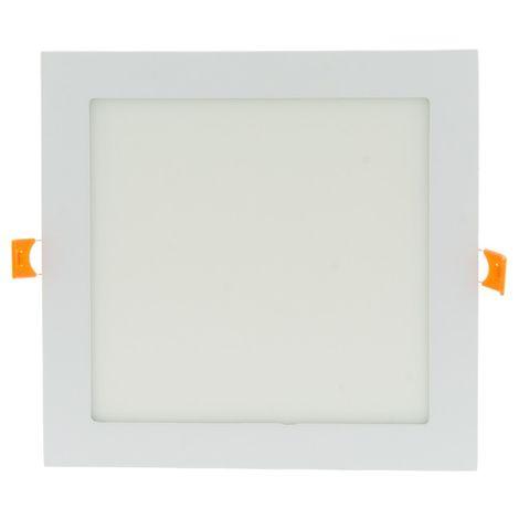 Spot LED 18W encastrable extra plat carré | Blanc Froid