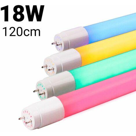 Tube LED T8 120cm 18 W de couleur | Bleu