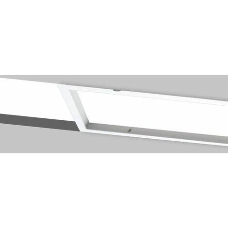 Cadre encastrable pour panneau LED 120x30