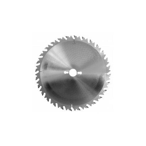 Lame circulaire carbure 600 mm z= 40 AR scie à buches