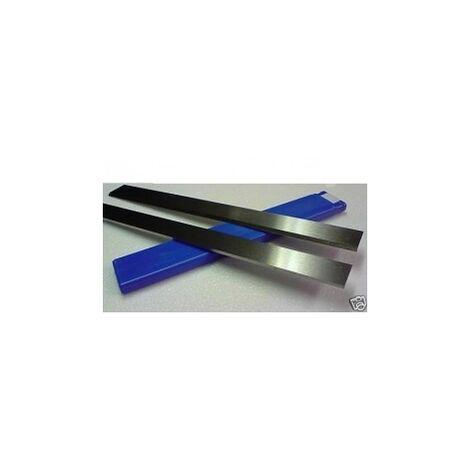 1 x Paire de fers HSS 18% 260 x 20 x 2,5 mm rabot degauchisseuse Kity / Lurem