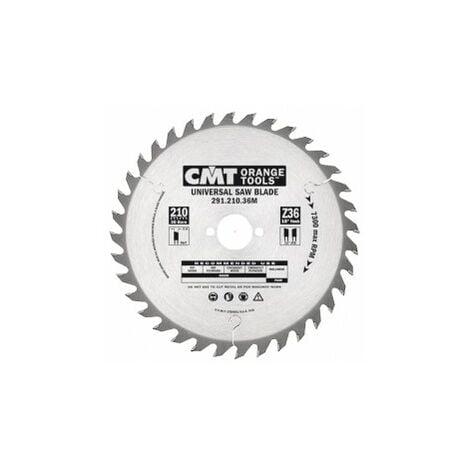 CMT : Lame circulaire carbure 160 z=24 al: 20mm coupe bois