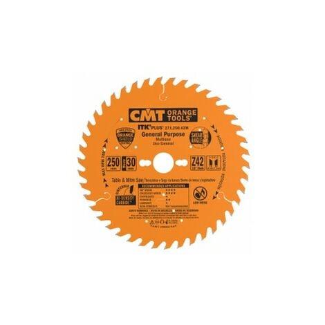 CMT : Lame carbure 250 z=42 ep.2,4 intermédiaire