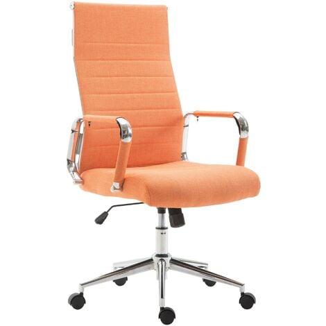Bürostuhl Kolumbus Stoff-orange