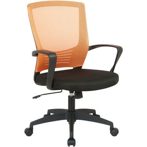 Bürostuhl Kampen-schwarz/orange