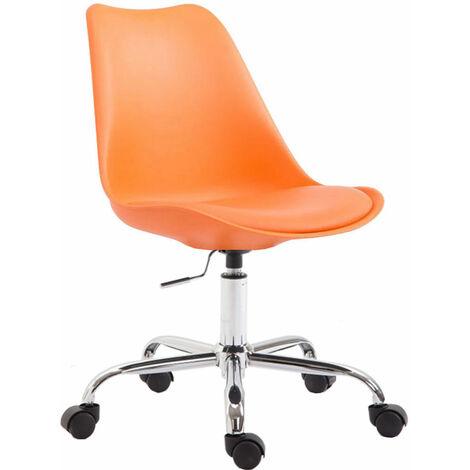 Bürostuhl Toulouse Kunststoff-orange