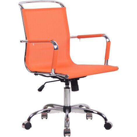 Bürostuhl Barnet Mesh-orange