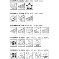 Lames de scie sauteuse – Tige T universelle – 5 pièces – bois et métal – Fabriquées en Allemagne