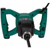Mélangeur de peinture / ciment 1200W - démarrage en douceur, câble en caoutchouc, agitateur 120 x 600 mm inclus