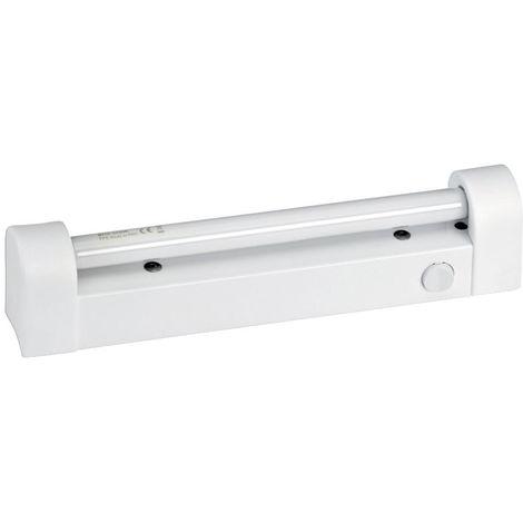 Reglette G5 IP20 avec interrupteur, avec tube fluo 8W/530 inclus
