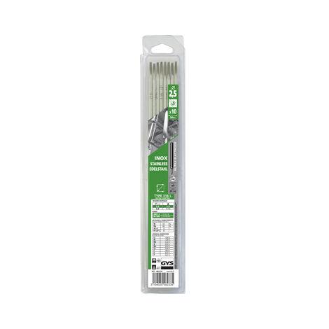 Baguettes de soudure Inox 316L D2.5 Etui de 10 GYS