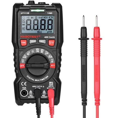 Multimeter tension auditeur Voltmètre Mètre AC//DC-tension résistance