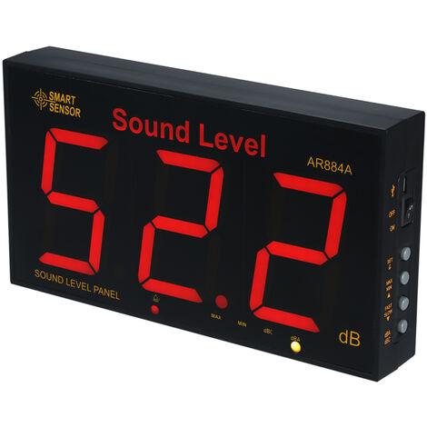 Sonometre, Plage De Mesure 30-130Db, Smart Sensor