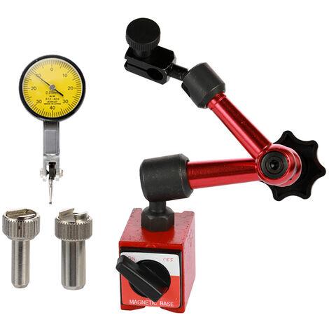 Indicateur A Cadran, Et Support De Base Magnetique Flexible