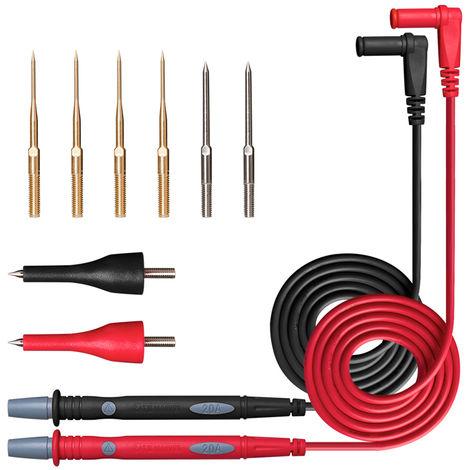 Kit De Sonde De Test Electronique Pour Stylo De Table De Multimetre, Cable De Test De Combinaison