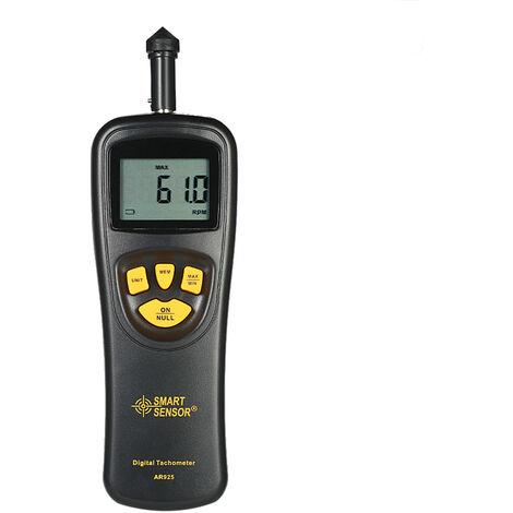 Tachymetre Numerique Lcd, Plage De Mesure 0.5 ~ 19999 Rpm