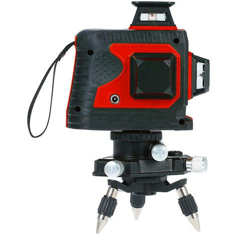 Mesureur De Niveau De Faisceau Laser Rouge, Touch Control, Avec Base Pivotante