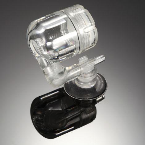 Ventouse En U En Forme De Tube De Valve De Controle De Diffuseur De Co2, Outil Accessoire D'Aquarium