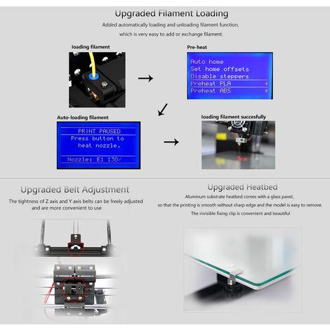 Imprimante 3D, Panneau De Commande Lcd, Carte Mere De Protection Contre Les Surintensites