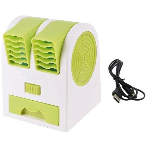 Ventilateur Usb De Bureau, Vert