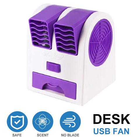 Ventilateur Usb De Bureau, Violet