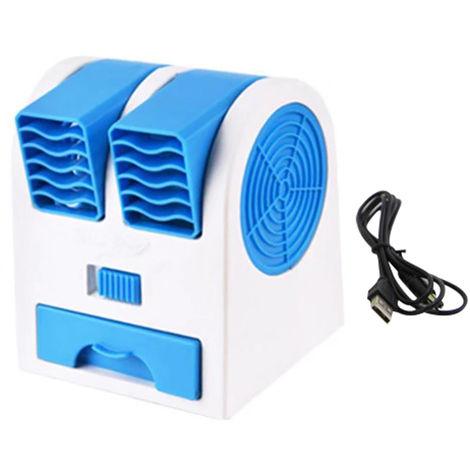 Ventilateur Usb De Bureau, Bleu