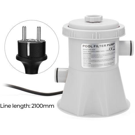 Pompe De Filtre De Piscine Electrique Reutilisable