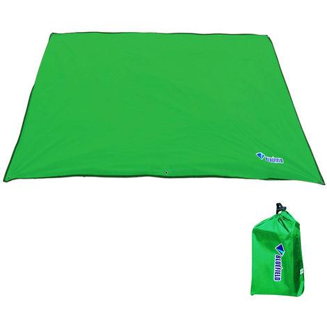 Bluefiled Impermeable Plage Tapis D'Exterieur Blanket Portable Mat Pique-Nique Multifonctionnel Camping Bebe Grimpez Tapis De Sol Matelas, Vert, Xs