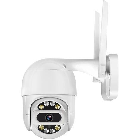1080P Hd Sans Fil Wifi Ptz Camera Ip (Numerique 5X) Exterieur Camera De Securite Etanche Avec Vision Nocturne De Soutien De Detection De Mouvement, Deux Voies Audio, Acces A Distance