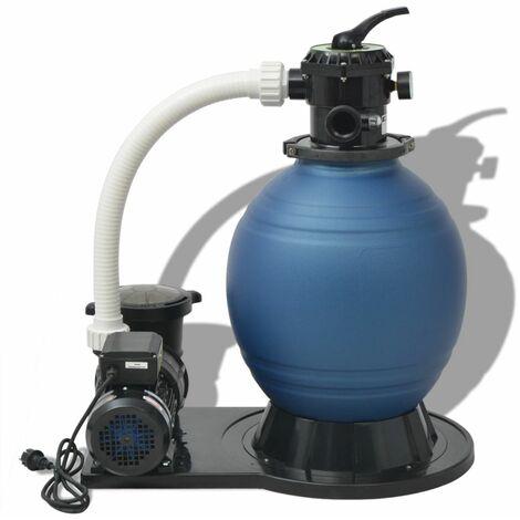 Pompe de filtration a sable 1000 W 16800 l/h