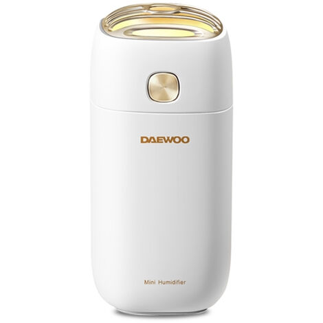 Mini Humidificateur Air Mist Maker Humidifier Mute Purificateur Moisturing Outil Pour Home Office Salon, Blanc