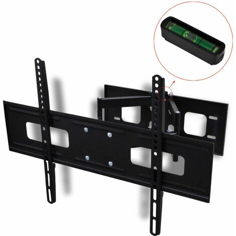 Support Mural TV Double Bras Orientable et Inclinable 600x400 mm