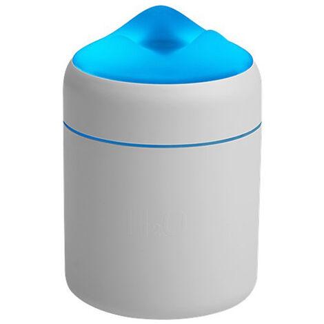 Humidificateur Grande Capacite Usb Mute Humidification Air Fresher Accueil Utilisation De Pc De Bureau Night Light Mist Diffuseur D'Air, Blanc