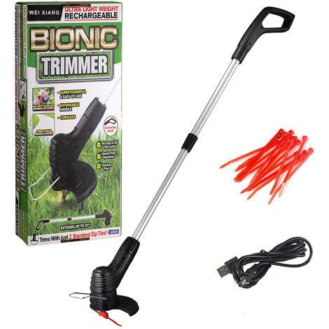 Tondeuse Electrique Sans Fil Portable Leger Et Portable Fauchage Machine Trimmer Usb Rechargeable Tondeuse Electrique Weed Eater