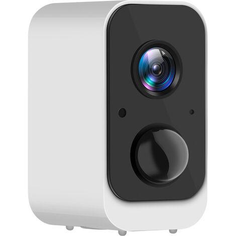 1080P Hd Batterie Rechargeable Sans Fil Wifi Vocale Bidirectionnelle Camera De Surveillance A Distance Detection De Mouvement Pir, Vision Nocturne Infrarouge