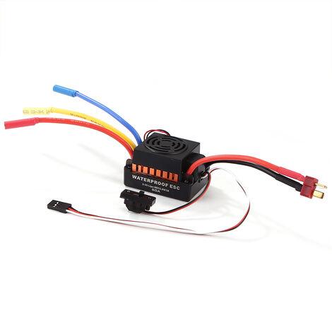 Ocday Etanche 60A Brushless Sensorless Voiture Electronique De Controle De Vitesse Esc