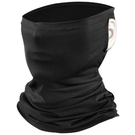 Modele Exterieur Multifonctionnel Masque Cheval De Pattes De Soie Glacee Creme Solaire, Noir