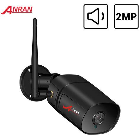 Camera De Surveillance Etanche Exterieure Sans Fil Full Hd 1080P, Prise En Charge De La Vision Nocturne, Audio Bidirectionnel, Detection De Mouvement