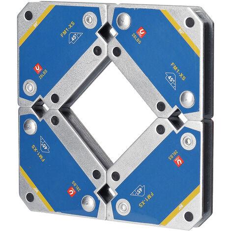 4Pcs Magnetiques Soudage Fixateurs 45 ¡ã 90 ¡ã 135 ¡ã Multi-Angle Aimant De Soudure Positionneur Outils Ferrite Auxiliaire De Localisation
