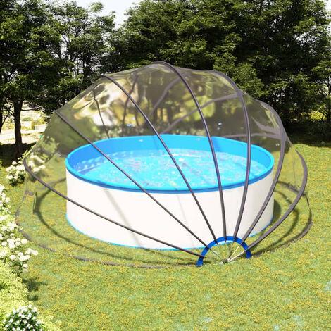 Dome de piscine 500x250 cm