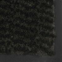 vidaXL Paillasson rectangulaire 40 x 60 cm Noir