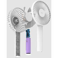 Mini Ventilateur, Rechargeable, Batterie 3350Mah, 3 Vitesses, Blanc, Xiaomi