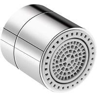 Aerateur de robinet, filetage femelle, emerillon a 360 degres, piece de rechange pour aerateur male