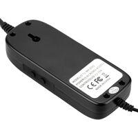Thermostat Electronique, Affichage Numerique A Led, Avec Prise Ca 90V ¡« 250V