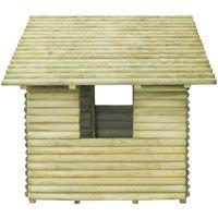 Aire de jeu Bois de pin impregne FSC 167 x 150 x 151 cm