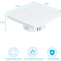 Interrupteur De Rideau Wifi, Interrupteur Touch Intelligente, Type 2