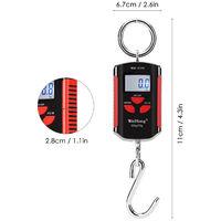 Balance Suspendue Electronique, Poids 200Kg / 440Lbs, Avec Ecran Lcd Retroeclaire