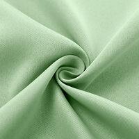 Rideaux A Isolation Thermique, Vert, 1 Panneau, 39X98Po